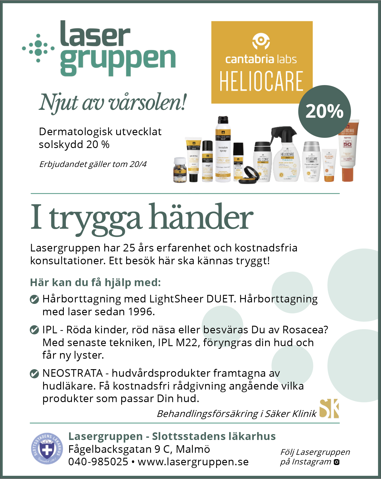 Heliocare offer